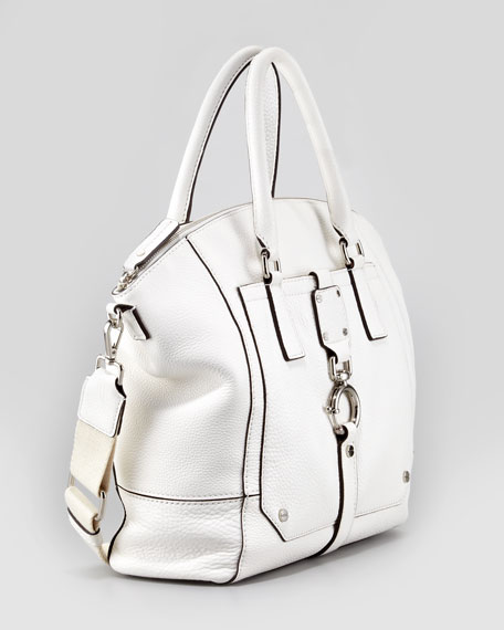 Felicity Tote Bag, White