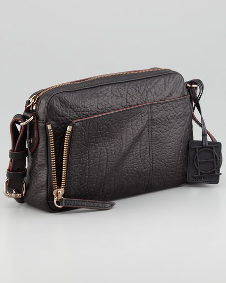 Camera Crossbody Bag, Black
