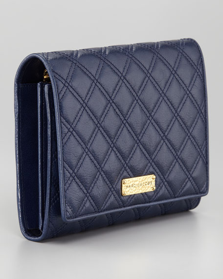 All-in-One Clutch Bag, Navy
