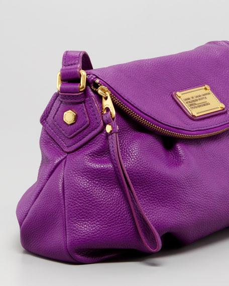 Classic Q Natasha Crossbody Bag, Violet