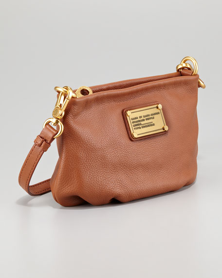 Classic Q Percy Crossbody Bag, Cinnamon Stick