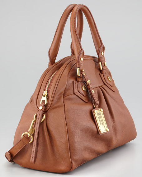 Baby Aiden Satchel Bag, Cinnamon Stick