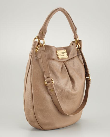 Classic Q Hillier Hobo Bag, Praline