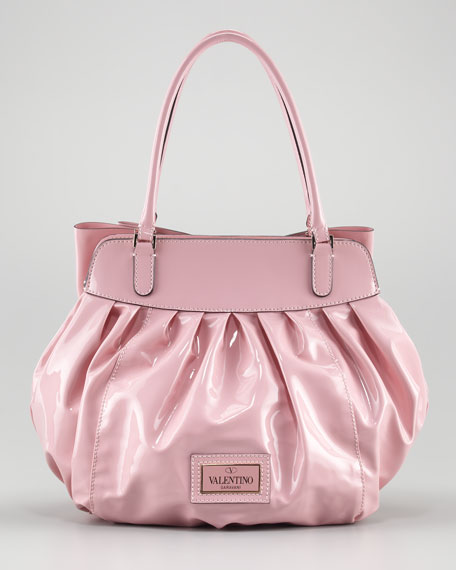 Double-Handle Lacca Bow Bag
