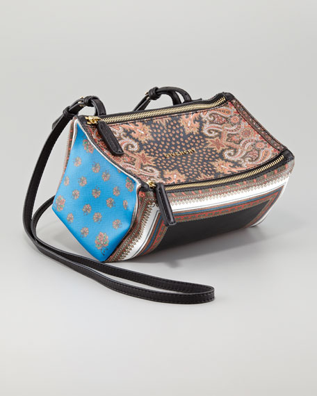 Printed Pandora Mini Crossbody Bag