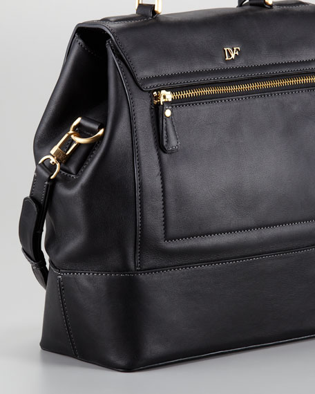 440 Top-Handle Small Satchel, Black