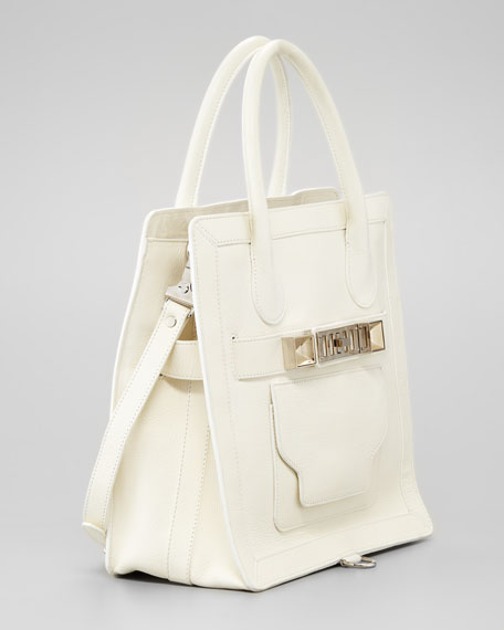 PS11 Small Tote Bag, White