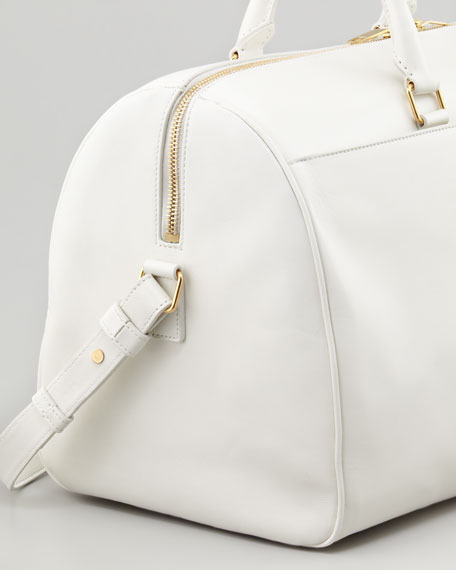 Medium Classic Duffel Bag, Off White