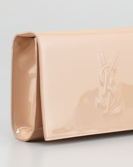 Belle De Jour Clutch Bag, Nude