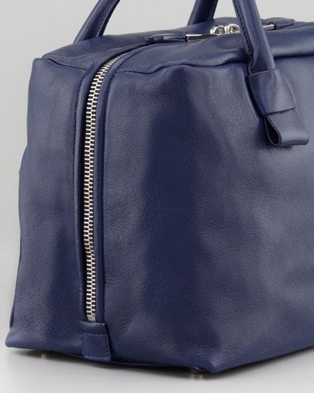Antonia Small Satchel Bag, Pacific