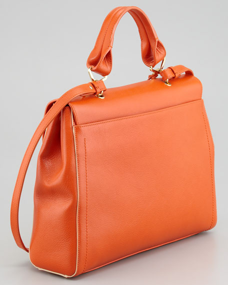 The 1984 Satchel Bag, Mandarin