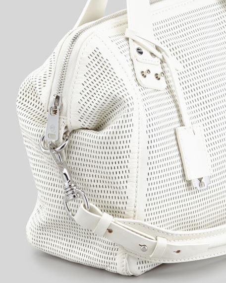 Redchurch Satchel Bag, Eggshell
