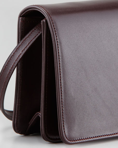 Marquage Medium Clutch Bag, Wine