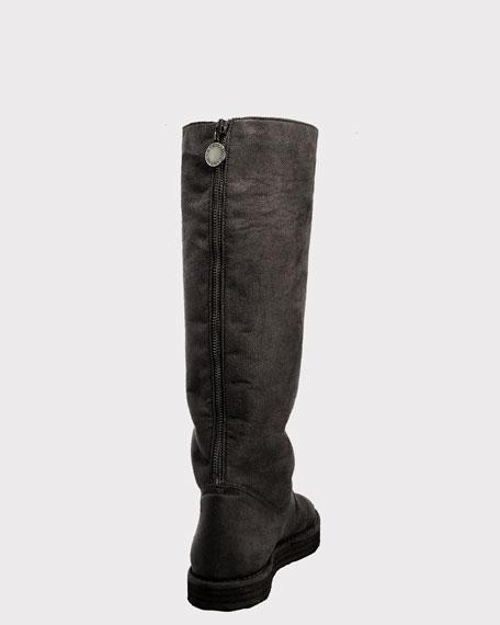 Tall Flat Boot