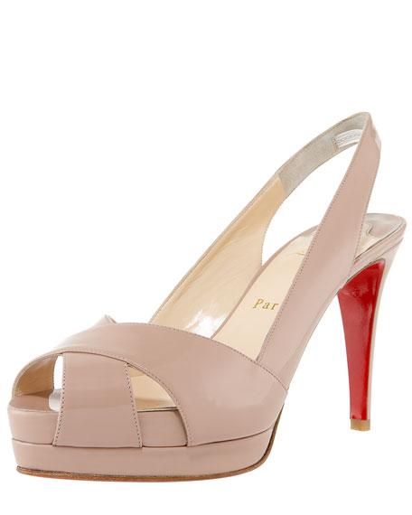 Soso Crisscross Platform Sandal, Patent