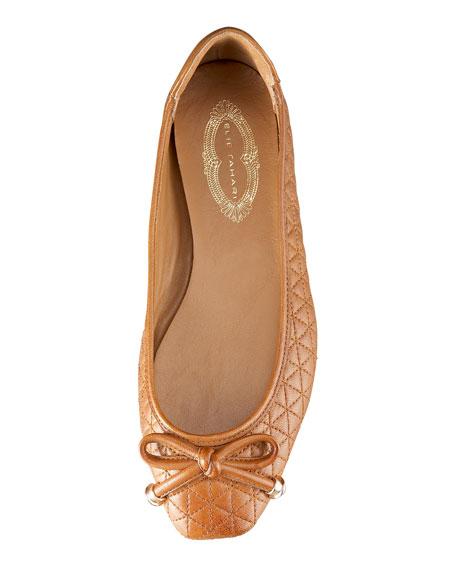 Gabbie Quilted Ballerina Flat