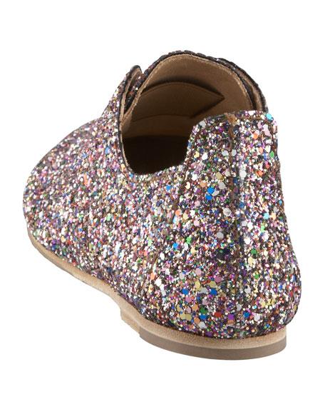 Glitter Slip-On Oxford