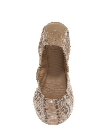 Eddie Watersnake Ballet Flat, Clay