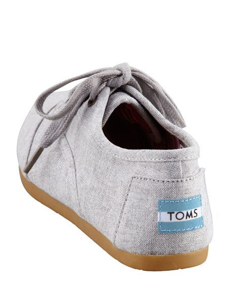 Fabric Lace-Up Shoe