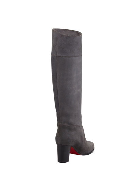 Dartata Knee Red Sole Boot