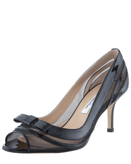 Mesh and Patent Bow Pump