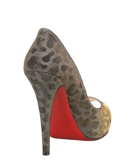 Very Prive Lame Red Sole Pump