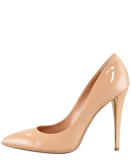 Patent Leather Pointed Toe Pump