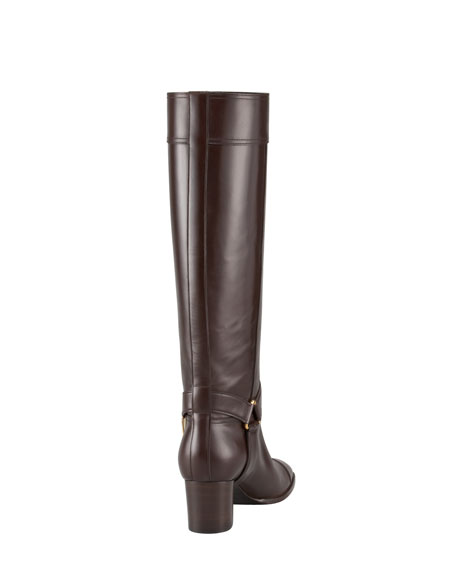 Signature Buckle Knee Boot