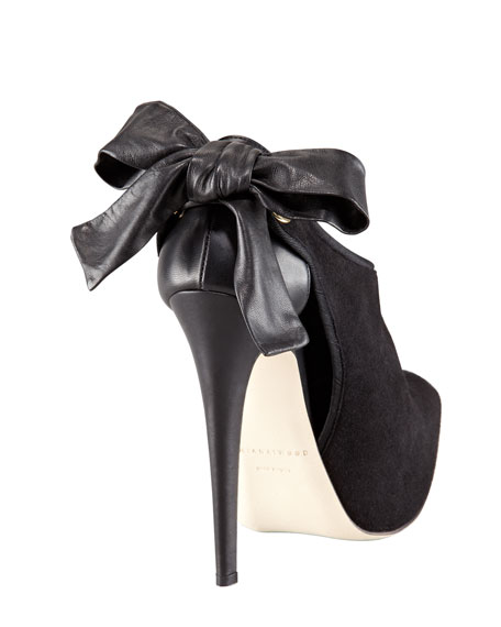 Louise Bow-Back Bootie
