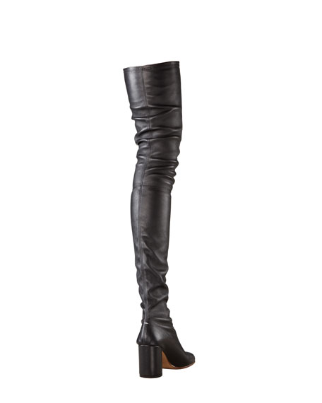 Scrunchy Over-the-Knee Boot