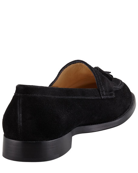 Aldena Tasseled Suede Loafer