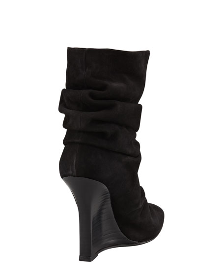 Rugginaclo Slouchy Wedge Bootie