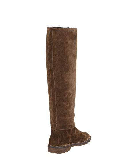 Shearling Lined Knee Boot