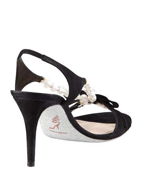 Pearl & Crystal V Sandal