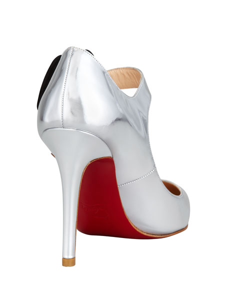 Pensee Specchio Red Sole Pump