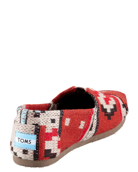 Tribal-Knit Slip-On