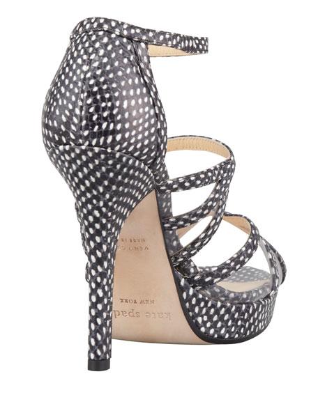 riley mini polka dot sandal