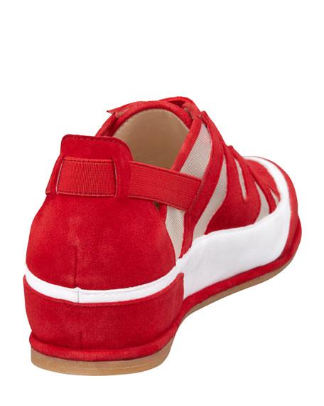 Chaser Mesh Slip-On Sneaker, Red