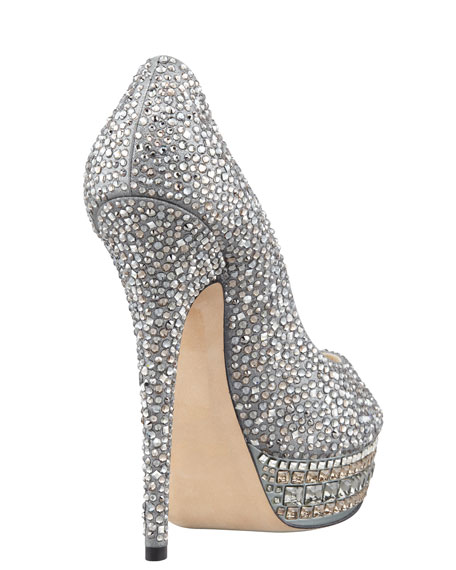 Kendall Beaded Platform Pump