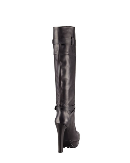 Belted Knee Boot