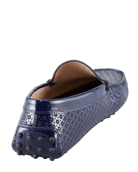 Pierced Patent Driving Moccasin