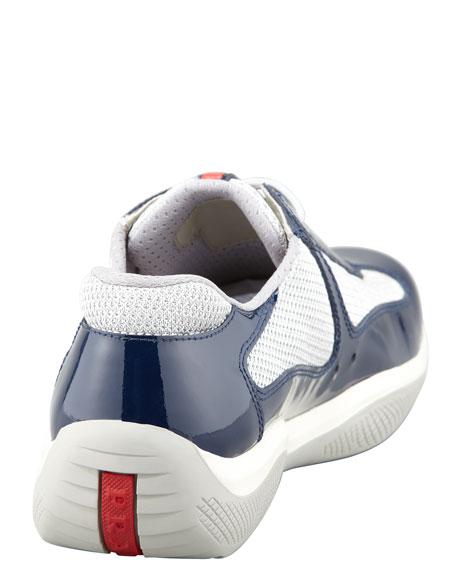 Sport Sneaker, Royal/Silver
