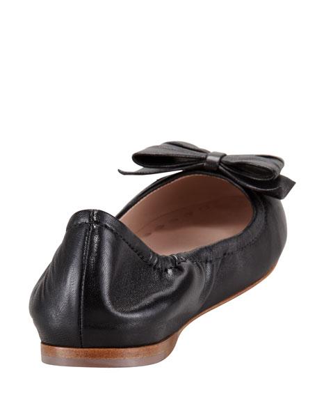 Ballerina Bow Flat, Black