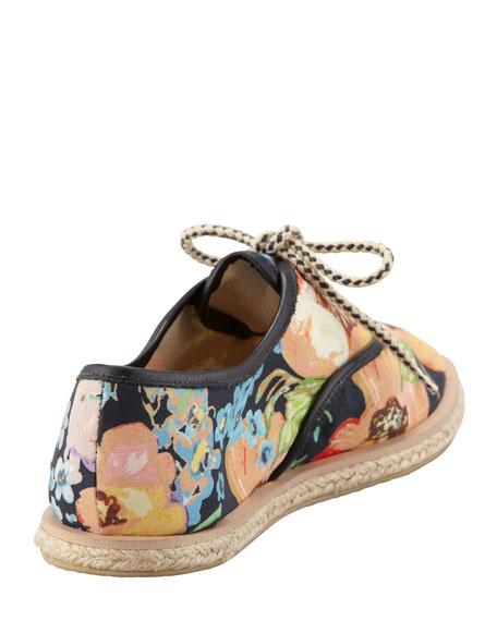Odile Floral Espadrille Tennis Shoe