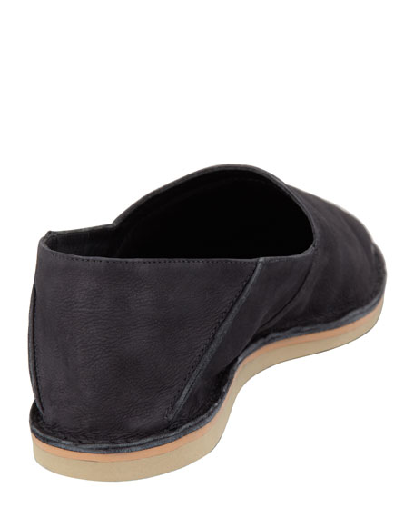 Kia Foldable Ballerina Slip-On, Black