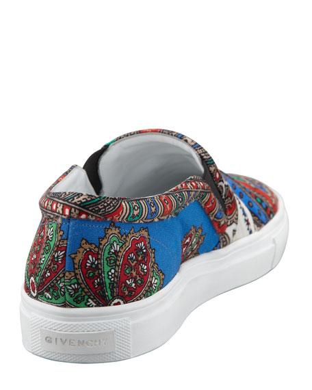 Fabric Print Sneaker
