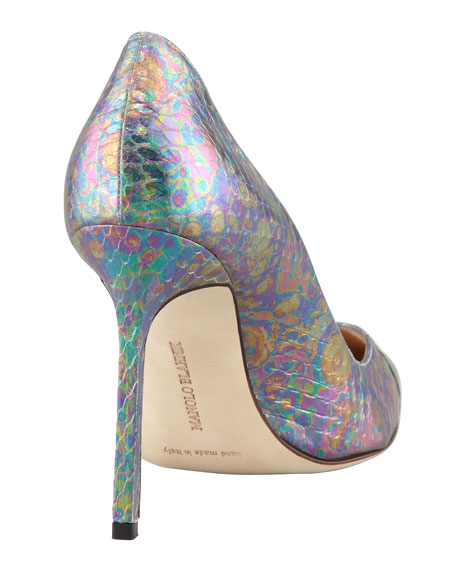BB Holographic Snake Pump, Blue