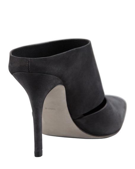 Dina Nubuck Slip-On, Black