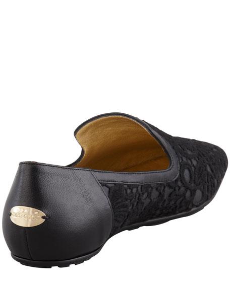 Wheel Lace Weekend Loafer, Black