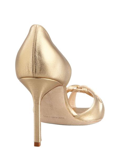 Clementina Metallic d'Orsay, Gold